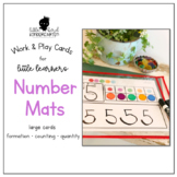 Work & Play Number Mats for Little Learners