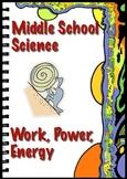 Work, Power, Energy Practice