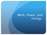 Work, Power, and Energy PowerPoint (COMPLETE VERSION)