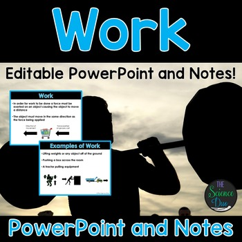 Work - PowerPoint and Notes