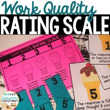 Work Quality Rating Scale- FREE!