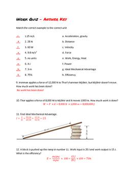 Work Quiz
