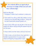 Work Reflection Bulletin Board Slips