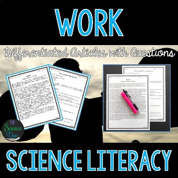 Work - Science Literacy Article