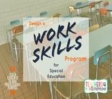Work Skills Program * Special Education * Full Guide, Visu