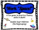 "Work ""Space!"" Double Digit Addition (no regrouping)"