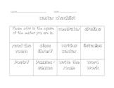 Work Station Activity Set / Labels