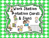 Work Station Cards & Signs