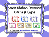 Work Station Cards & Signs NEW