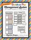 Work Station & Learning Center Management System {Rainbow Pop}