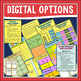 Literacy Work Stations in Digital for Google Slides and PDF Formats