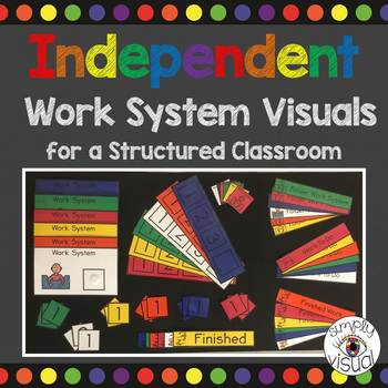 Work System Visuals for a Structured Classroom