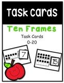 Work Task  Box Cards Ten Frames 0-20