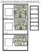 Work Task Box  Counting Bills to up $100.00 Like and Unlike
