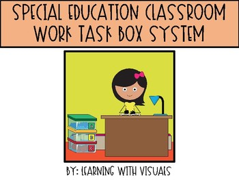 Work Task Box System for Special Education Classroom