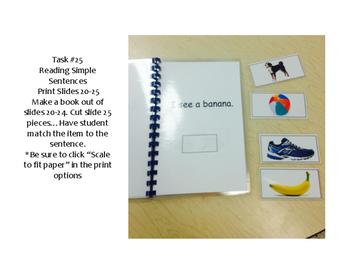 Work Tasks 22-26