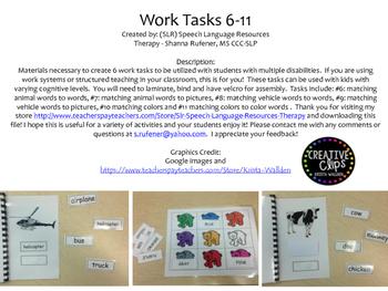 Work Tasks 6-11