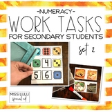 Work Tasks for Secondary Students {Numeracy}