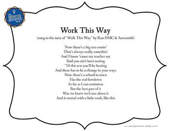 Testing Song Lyrics for Walk This Way