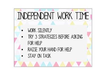 Work Time Indicator