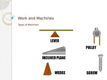 Work - Types of Machines