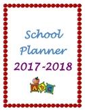 Work Week Planner 2017-2018