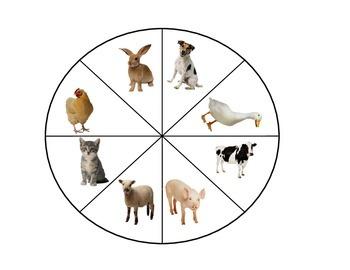 Work Wheel Animals