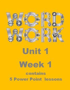 Wonders Work Work Unit 1 Week 1 Power Point