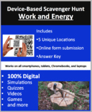 Work and Energy – A Digital Scavenger Hunt Activity