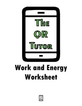 Work and Energy Worksheet