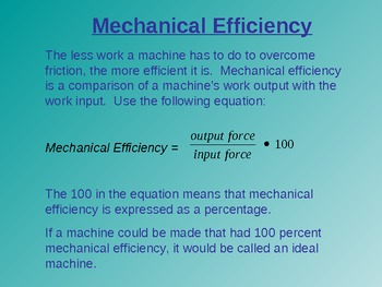 Work and Machines New American Lecture