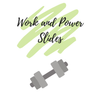 Work and Power Google Slides Presentation