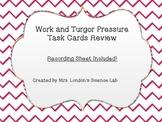 Work and Turgor Pressure Task Cards