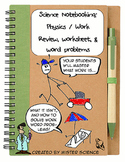 Work formula review word problems & keys Middle Jr High physics Newtons NGSS