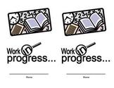 Work in Progress folder label