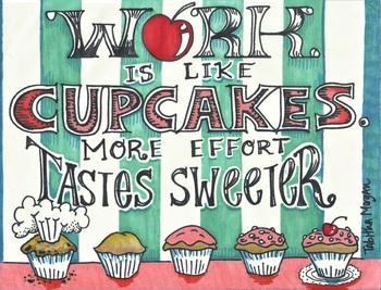 Work is like Cupcakes