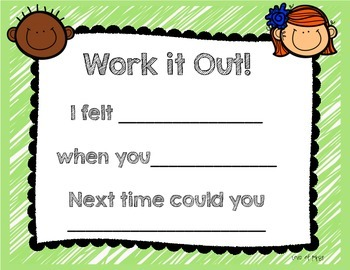 Freebie--Work it Out Signs