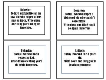 Work like a ....task cards