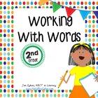 Word Work Activities for 2nd grade