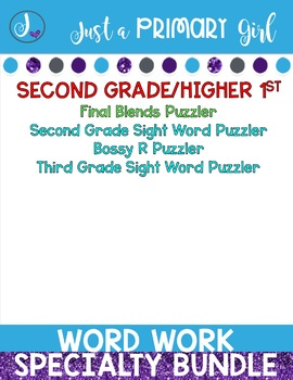 Work on Words Bundle