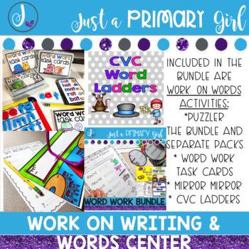 Work on Words and Work on Writing Bundle