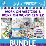 Work on Words and Work on Writing Bundle