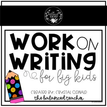 Work on Writing