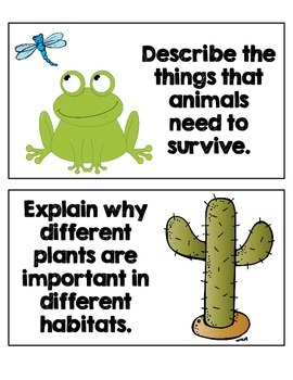 Work on Writing: Animal Habitats