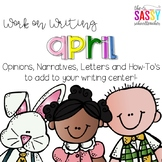 Work on Writing April
