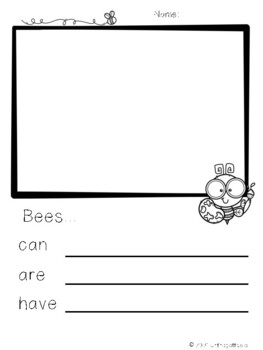 Work on Writing - Bees Edition