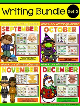 Work on Writing Bundle Set 3