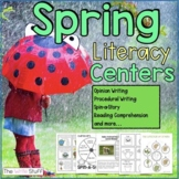 Literacy Centers for Spring