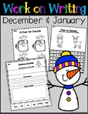 Work on Writing Center - December & January