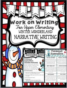 Work on Writing Center: Upper Elementary Narrative Writing